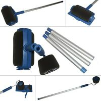 Paint Runner Pro Roller Brush Set Wall Painting Edger Handle DIY Tool Kit 5 PCS