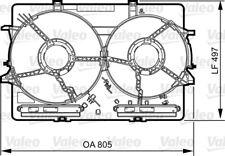 VALEO Halter Kühlerlüfter 820757 für 4G2 B8 4GC A5 A4 A6 8K2 AUDI C7 8K5 Avant