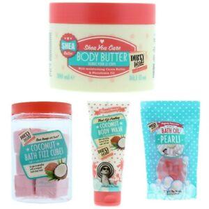 4 Item Gift Set - Dirty Works Bath & Body mixed Women's Ladies Christmas Kit