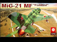 MIG-21 MF FISHBED - FAMOUS RUSSIAN COLD WAR FIGHTER, SCALE 1/72, ZTS PLASTYK