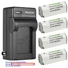 Kastar Battery Wall Charger for Canon NB-9L CB-2LB & Canon PowerShot N Camera