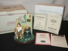 Norman Rockwell Figurine The Winner w/ Box & Coa Sugar & Spice (Y782)