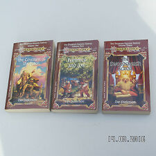 DRAGOLANCE THE DWAWVEN TRILOGY COMPLETE ALL 3 VOLUMES DAN PARKINSON VGC