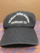Colorado Crude Carriers Greely, CO Men's Blue Baseball Cap Hat