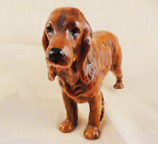 """COCKER SPANIEL RED Figurine GOEBEL NEW NEVER SOLD 6"""" tall made in Germany #CH623"""