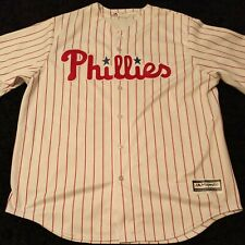 MLB PHILLIES Majestic mens baseball JERSEY MAIKEL FRANCO ADULT Sz. XL Pinstripes