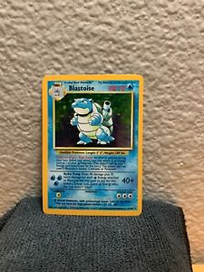 1999 Pokemon Blastoise Base Set Rare Holo 2/102 NM NEAR MINT