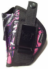 Ruger SR22 | Muddy Girl Nylon hand Gun Holster Pink Purple Camo