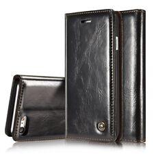 Caseme GUSCIO per cellulare Custodia per Huawei p10 Guscio Case Wallet-Nero (3csc)