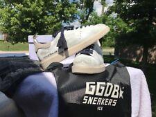 Golden Goose , Sante Fe, Flower White $561 , GGDB ,Sneakers,42 (US 9) NEW n  BOX