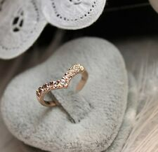 ! NiX 1444 Gold Plated Ring Crystal Ring Gift Women New Dia 15mm Engagement Ring