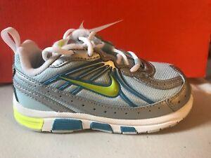 Sneakers Nike Tie Sneakers T-Run ALT 4 Blue Mist/Scuba Childs  Size 7 SALE