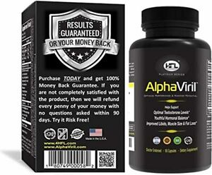 AlphaViril™ by Dr Sam Robbins | Natural Testosterone Booster for Men & Women,