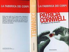 """PATRICIA CORNWELL """" LA FABBRICA DEI CORPI """"  -THRILLER"""