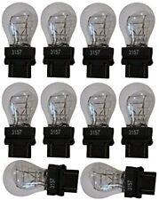 Lotto 10 Lampada lampadina Alogena 3157 T25 P27/7W 12V W2.5x16q Doppio Filamento