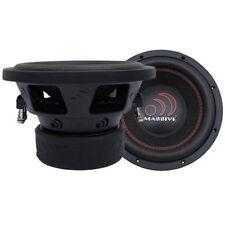 "New! Massive Audio GTX 84 800 Watt 8"" Inch Dual 4 Ohm Car Audio Sub Subwoofer"
