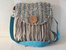 Stiff Bag of Linen and Leather VanStoel#160