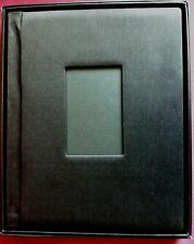 "(TWO) Elegant Photo Album 11""X 14"" black Self Mount Wedding,engagement,"