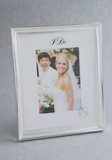 "NEW Wedding Photo Frame/Gift 'I Do' Wedding Ring 5""x7"" VERY SMALL FAULT"