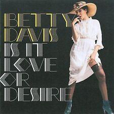 Is It Love or Desire [Digipak] * by Betty Davis (CD, Sep-2009, Light in the Att…