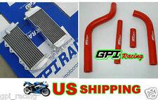 Aluminum Radiator + hose Yamaha YZ125 YZ 125 2005-2014 2006 2007 2008 09 10 11