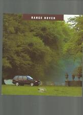 RANGE Rover 4.0, 2.5 DT, 4.0 se, 2.5 DSE e 4.6 HSE LISTINO opuscolo 1994