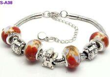 1pc beautiful charm bracelet fit porcelain beads S-A38