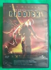 The Chronicles of Riddick Vin Diesel Vgc Dvd R4 Free Shipping