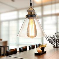 Modern Pendant Light Kitchen Glass Ceiling Lights Bedroom Chandelier Lighting