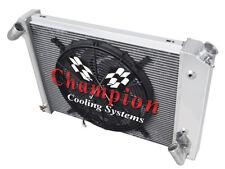 "1966 - 1968 Chevy Corvette 3 Row Jamn Champion Radiator W/ 16"" Fan"
