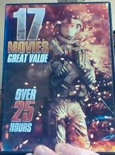 DVD - 17 Movies - Hijack - Passchendaele - ICE - Throttle  - Frame of Mind