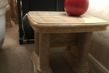 Italian dining table with three other living room tables to match