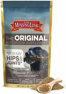 Missing Link Ultimate Canine Hip & Joint All Breed Dog Supplement 1lb