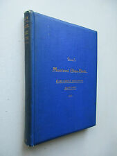 Dau's Society Blue-Book for Montreal Elite family directory club member 1st 1898