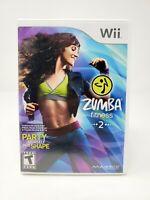 Zumba Fitness 2 (Nintendo Wii) w/ Manual