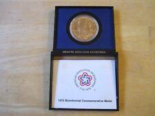 Paul Revere 1975 American Revolution Bicentennial Bronze Medal in holder