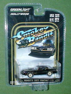 BANDIT'S 1977 PONTIAC T/A SMOKEY AND THE BANDIT DIECAST 1/64 2016 RELEASE