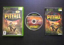 JEU Microsoft XBOX PITFALL L'EXPEDITION PERDUE (Activision COMPLET envoi suivi)