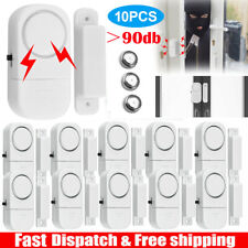 10PCS Wireless Home Window Door Burglar Security Alarm System Magnetic Sensor US