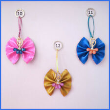 50 BLESSING Women Girl Fashion Ballet Girl Key Chain Flash PU Leather Wholesale