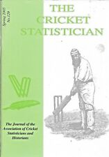 THE CRICKET STATISTICIAN Spring 2005  No.129 ACS Publications Paperback