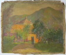 Edith Mann c.1910 American Impressionist oil painting New Hope PA woman artist