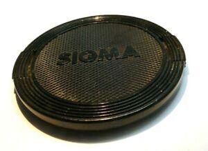 Sigma 55mm Lente Tapa Frontal Original OEM (Negro) Vintage