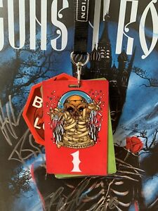 METALLICA BACKSTAGE PASS #1 SAN FRANCISCO, THE FILLMORE