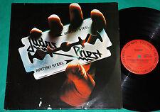 Judas Priest - British Steel BRAZIL LATE Press 1993 Lp Columbia RED LABEL