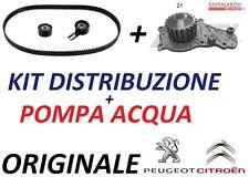KIT CINGHIA DISTRIBUZIONE ORIGINALE + POMPA ACQUA PEUGEOT 207 1.4 HDi 50 KW 68CV