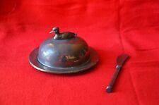 Pastetenteller Ente mit Messer