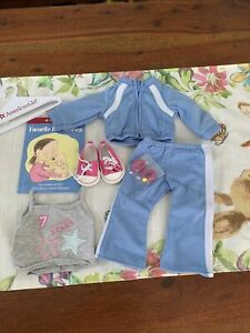 American Girl Doll Track Suit Outfit Favorite Pet Stories NEW