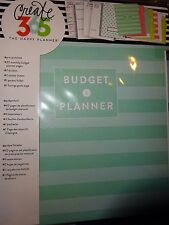 "me & my BiG idea CREATE 365 CLASSIC HAPPY PLANNER ""BUDGET PLANNER"" 41pages"