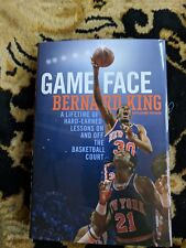 SIGNED IN PERSON BERNARD KING*GAME FACE comes with a COA